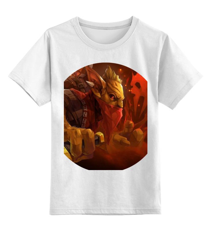 Детская футболка классическая унисекс Printio Dota 2 - bounty hunter детская футболка классическая унисекс printio dota 2 logo