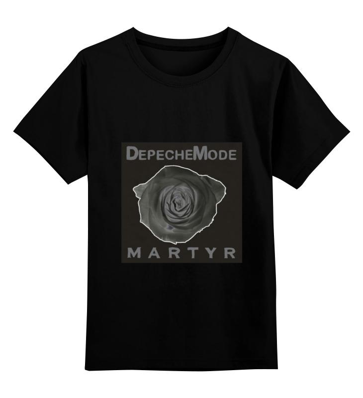 Детская футболка классическая унисекс Printio Depeche mode dvd depeche mode the best of videosvolume 1