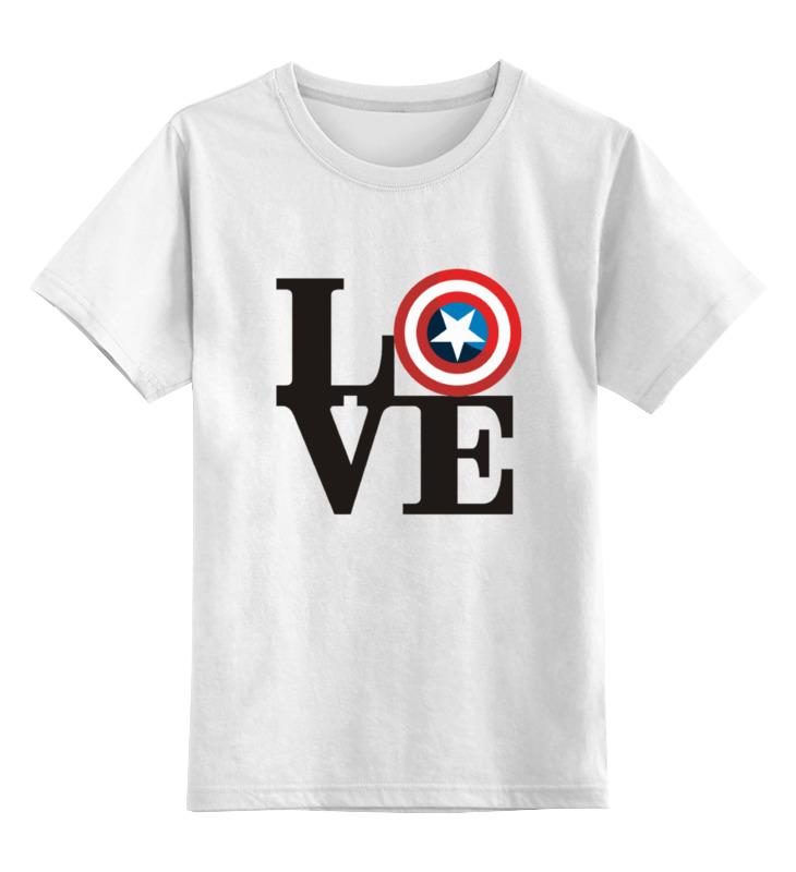 Детская футболка классическая унисекс Printio Люблю капитана детская футболка классическая унисекс printio мачете