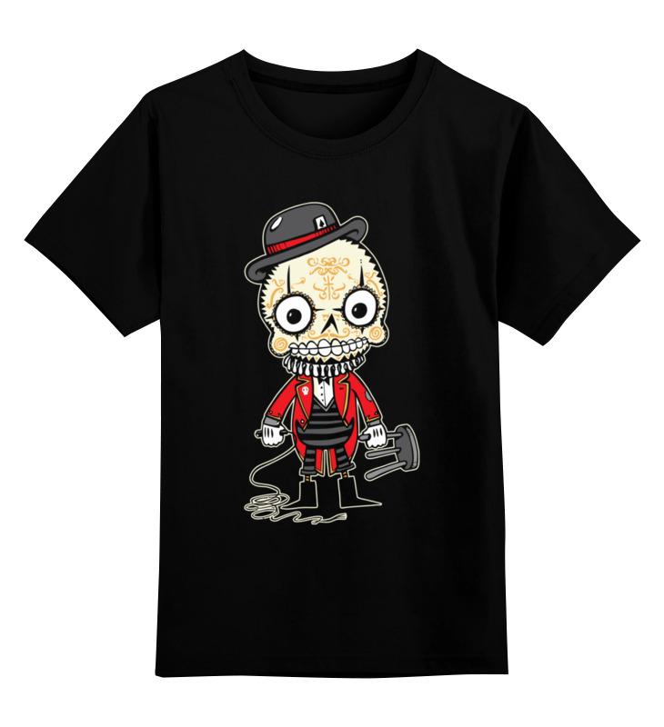 Детская футболка классическая унисекс Printio Скелет детская футболка классическая унисекс printio классическая футболка dota 2