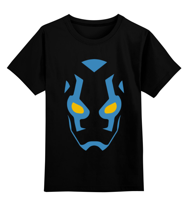 Детская футболка классическая унисекс Printio Синий жук футболка стрэйч printio вольскваген жук