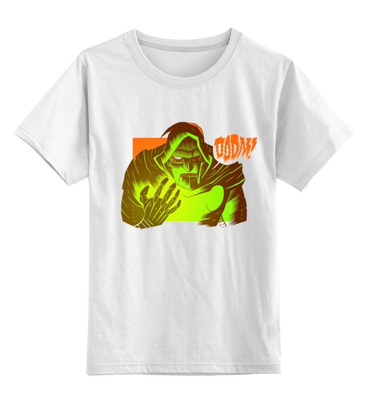 Детская футболка классическая унисекс Printio Mf doom лонгслив printio mf doom