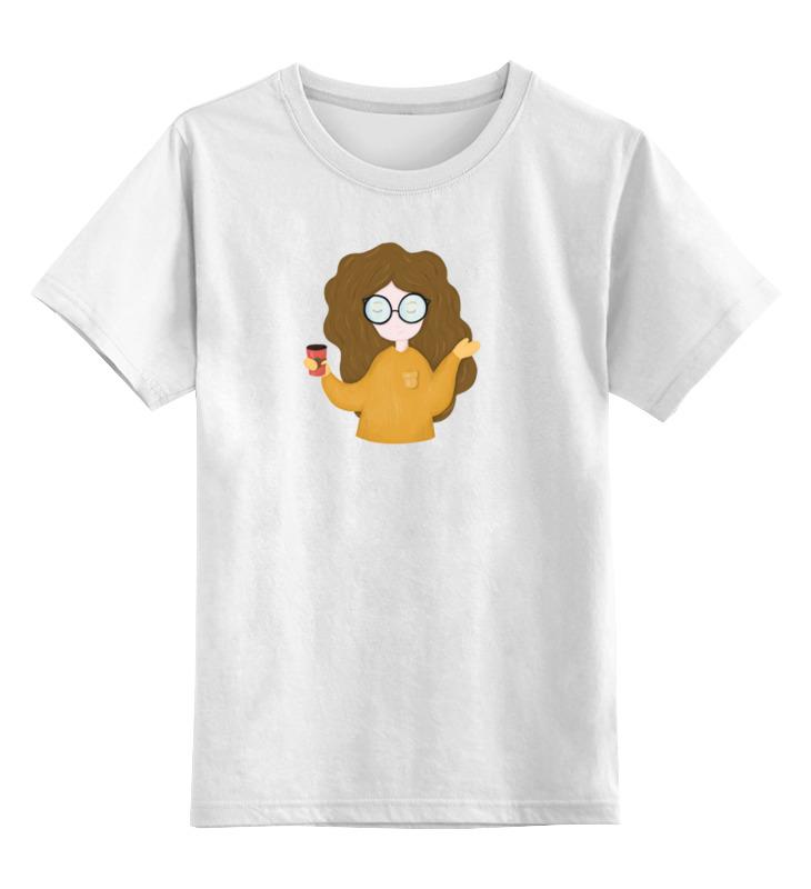 Printio Девочка с кофе детская футболка классическая унисекс printio девочка с фламинго