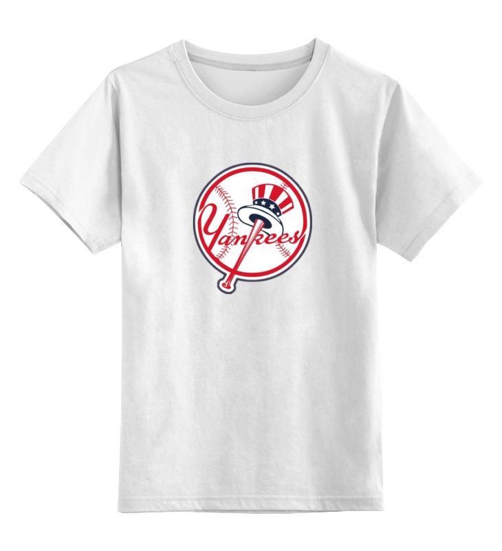 Детская футболка классическая унисекс Printio Нью-йорк янкиз / new york yankees