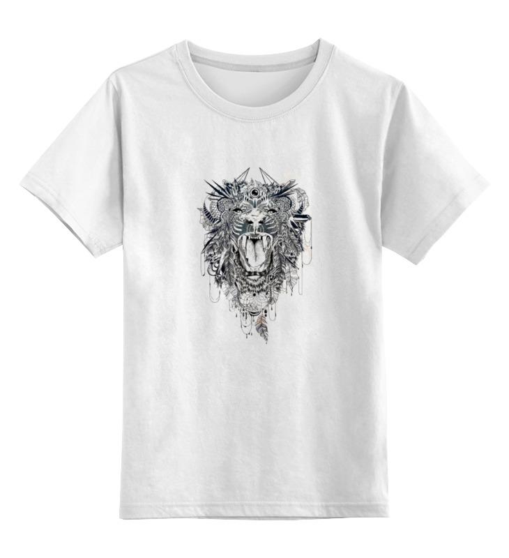 Детская футболка классическая унисекс Printio Тигр.маска детская футболка классическая унисекс printio африканские маски