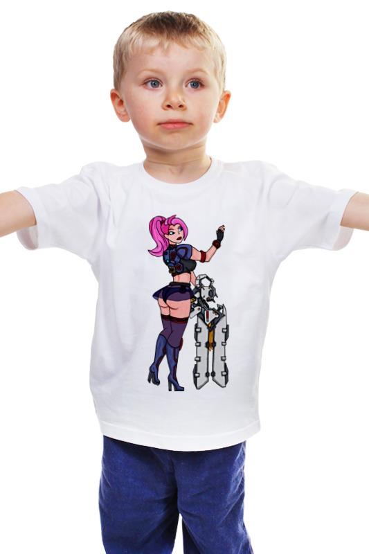 Детская футболка классическая унисекс Printio Заря. детская футболка классическая унисекс printio заря