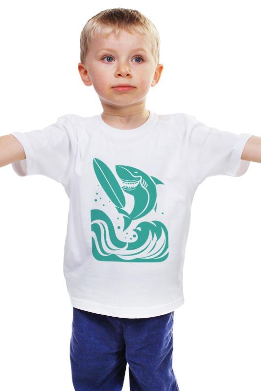 Детская футболка классическая унисекс Printio Сёрфинг