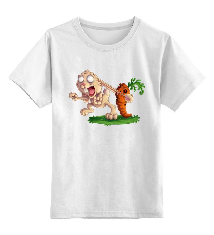 Детская футболка классическая унисекс Printio Злая морковка футболка классическая printio злая морковка