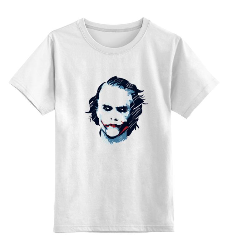 Детская футболка классическая унисекс Printio Джокер костюм веселого клоуна 34