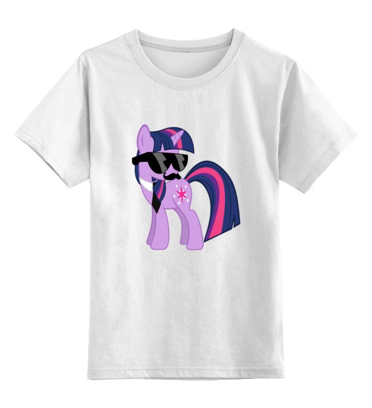 Детская футболка классическая унисекс Printio My little pony - twilight sparkle (искорка) футболка для беременных printio my little pony герб twilight sparkle искорка