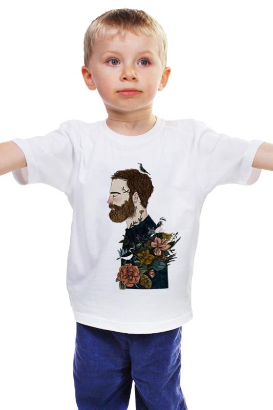 Детская футболка классическая унисекс Printio Бородач детская футболка классическая унисекс printio бородач