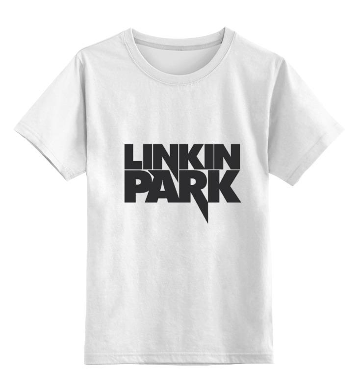 Детская футболка классическая унисекс Printio Linkin park logo цена