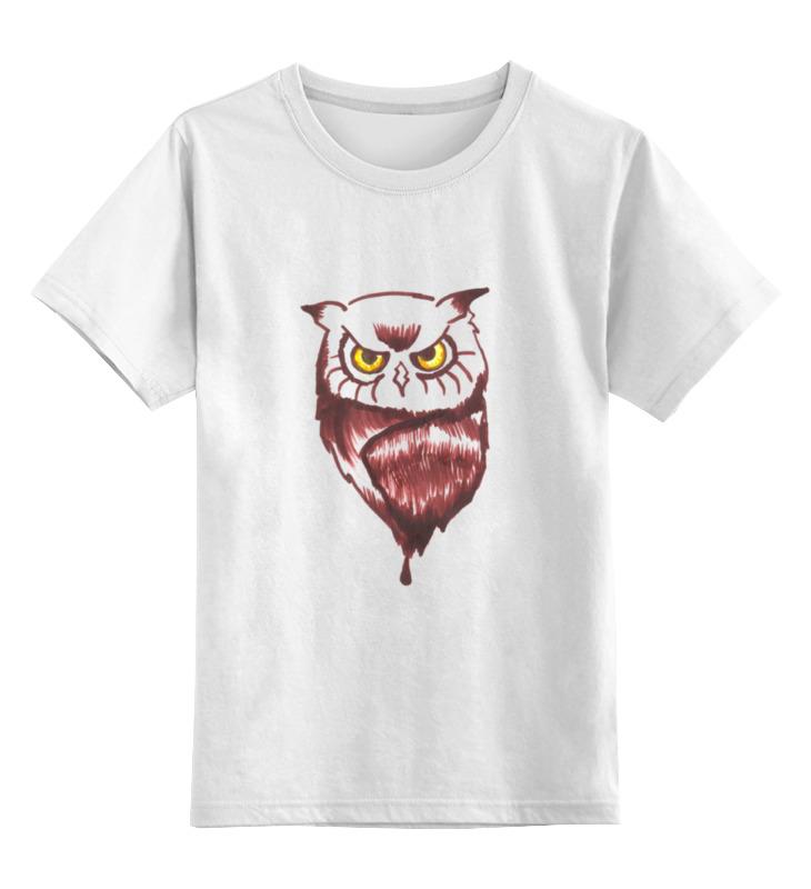 Детская футболка классическая унисекс Printio Sova-vsеvidyashee oko детская футболка классическая унисекс printio арт сова