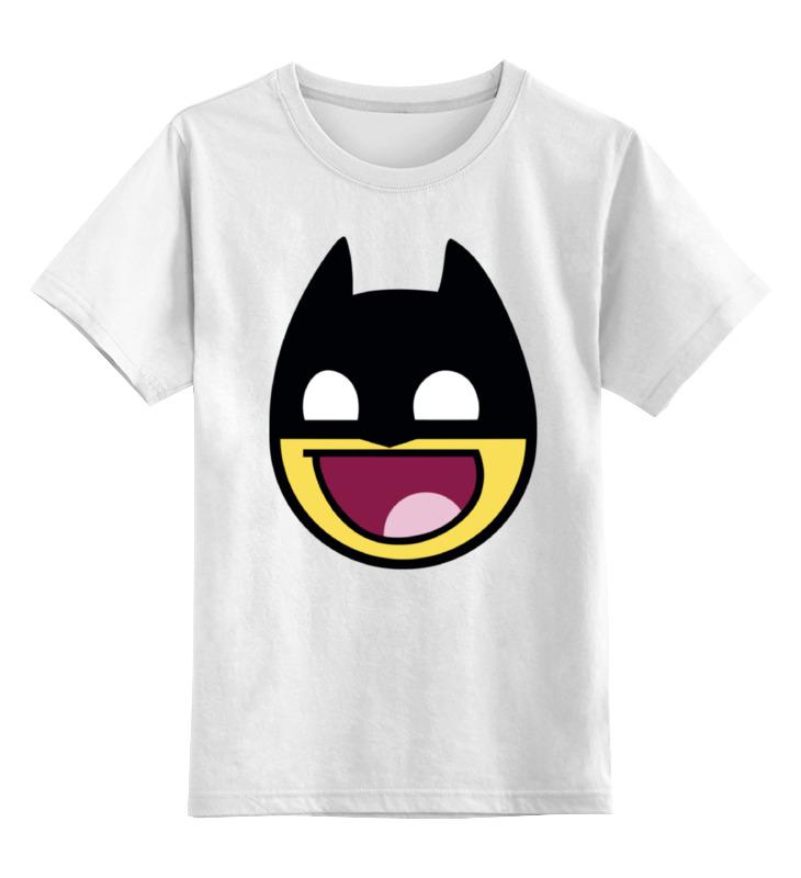 Детская футболка классическая унисекс Printio Batman sbart upf50 rashguard 2 bodyboard 1006