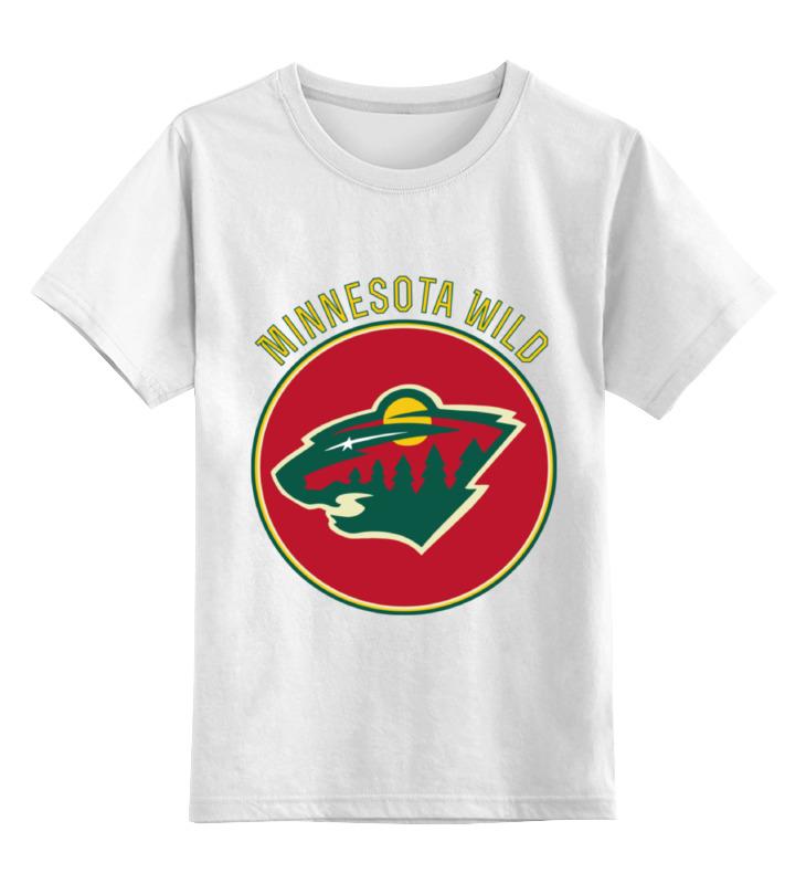 Printio Minnesota wild детская футболка классическая унисекс printio minnesota wild nhl usa