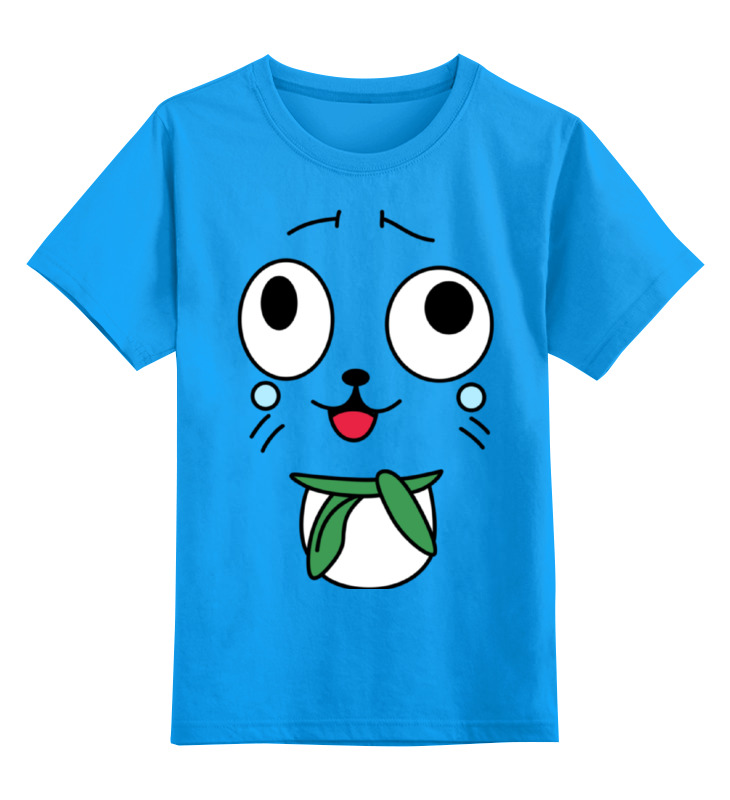 Детская футболка классическая унисекс Printio Хэппи. fairy tail fairy tail volume 30