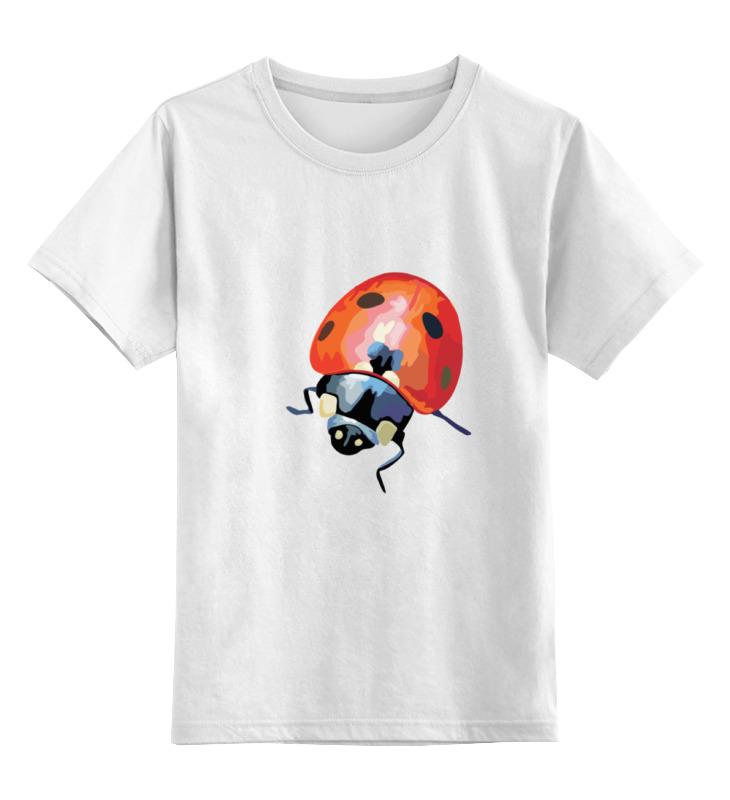 Детская футболка классическая унисекс Printio Божья коровка пенал школьный божья коровка ткань 44139