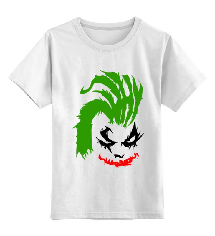 Детская футболка классическая унисекс Printio Why so serious? (joker) толстовка wearcraft premium унисекс printio joker why so serious