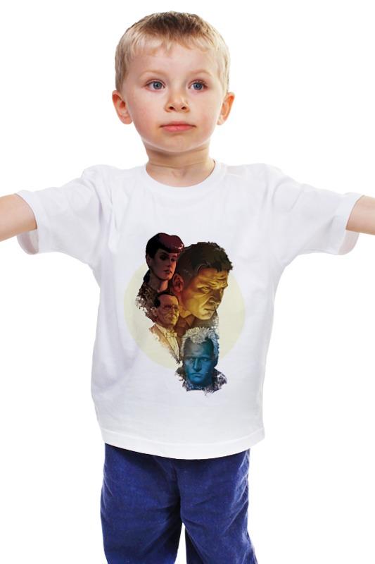 Детская футболка классическая унисекс Printio Бегущий по лезвию