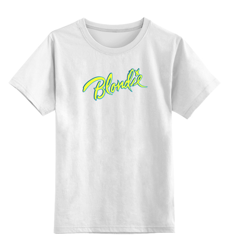 Детская футболка классическая унисекс Printio группа blondie little blondie sunglasses