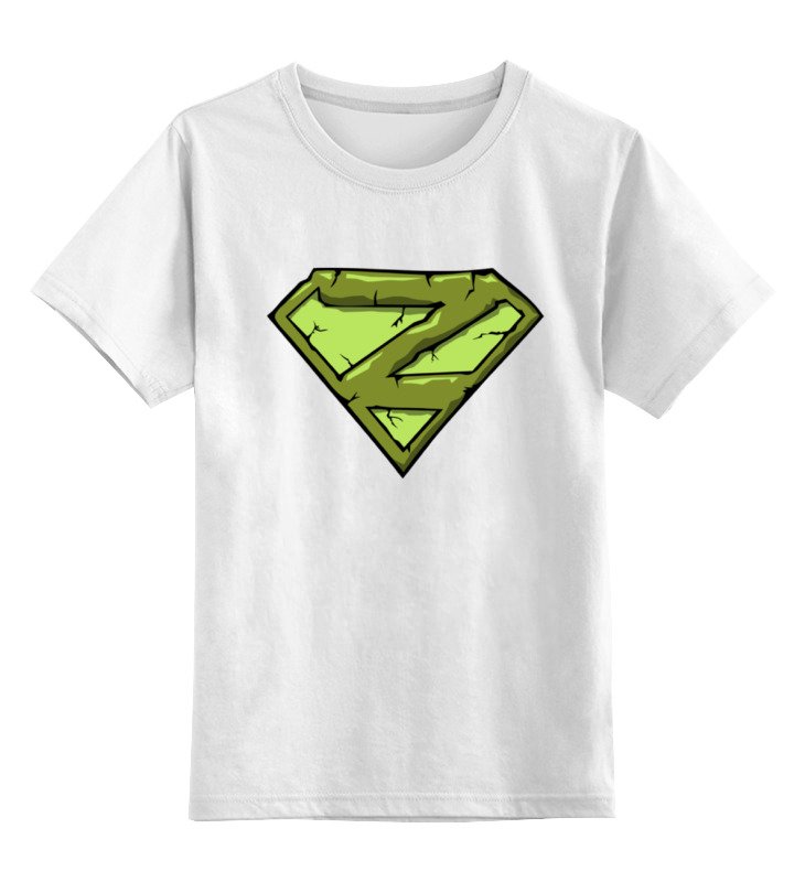 Детская футболка классическая унисекс Printio Zombie man