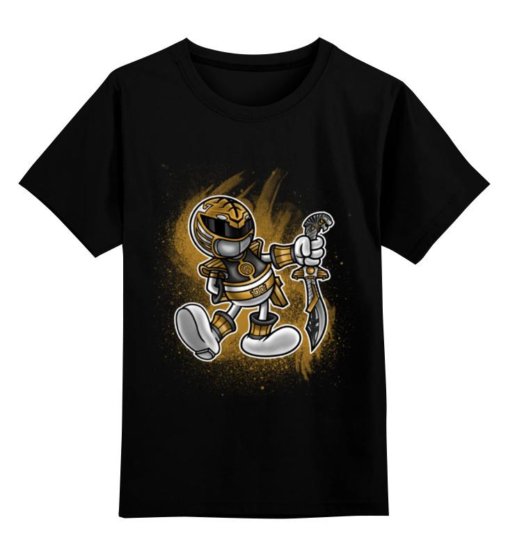Детская футболка классическая унисекс Printio Белый рейнджер детская футболка классическая унисекс printio желтый рейнджер