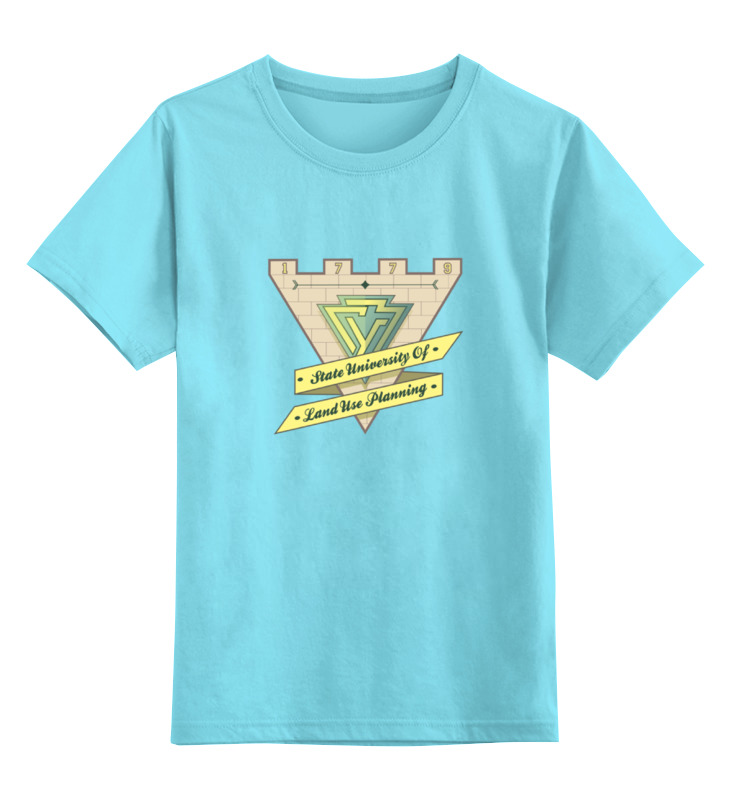 Детская футболка классическая унисекс Printio Футболка женская гуз футболка унисекс