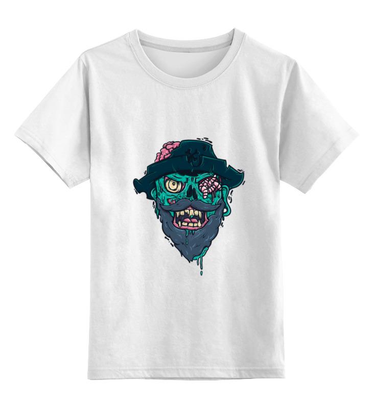 Детская футболка классическая унисекс Printio Пират