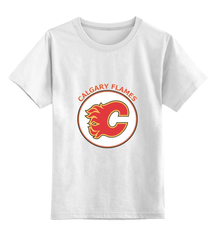 Детская футболка классическая унисекс Printio Calgary flames свитшот print bar calgary flames