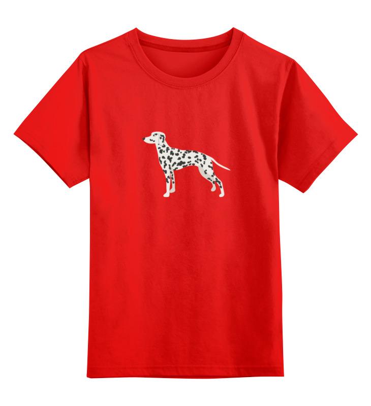 Детская футболка классическая унисекс Printio Далматинец smoby детская горка king size цвет красный
