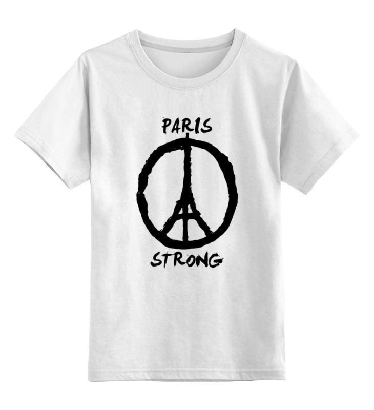 Детская футболка классическая унисекс Printio Париж сильный (мир парижу) детская футболка классическая унисекс printio in paris