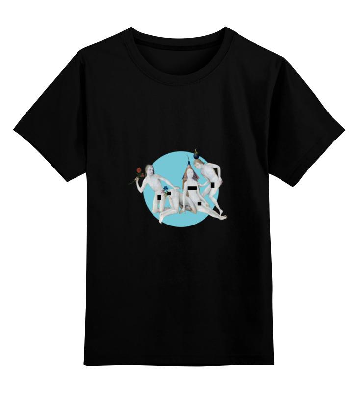 Детская футболка классическая унисекс Printio Иероним босх поло print bar иероним босх сад земных наслаждений