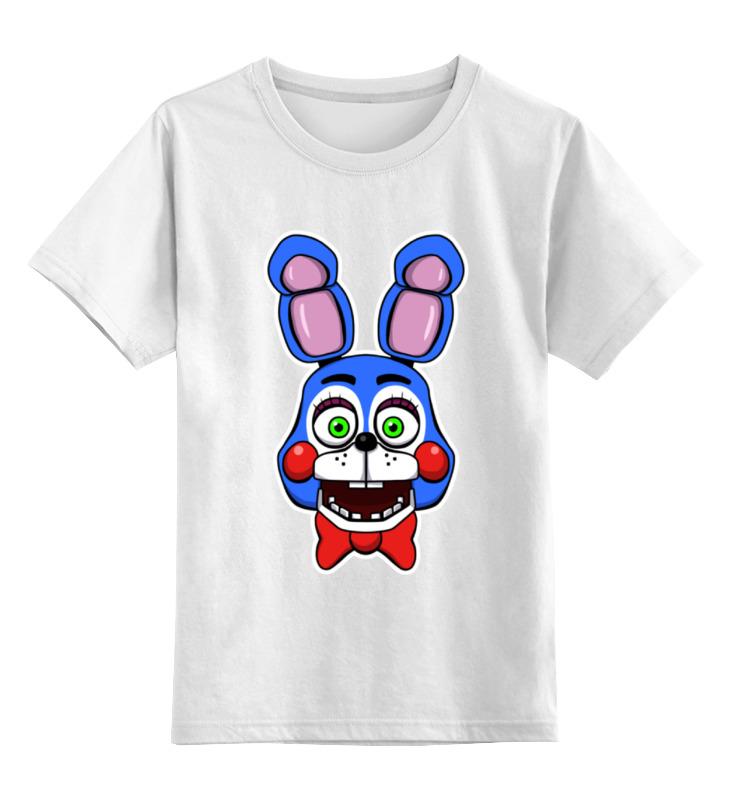 Детская футболка классическая унисекс Printio Toy bonnie (пять ночей у фредди) футболка toy machine leopard brown