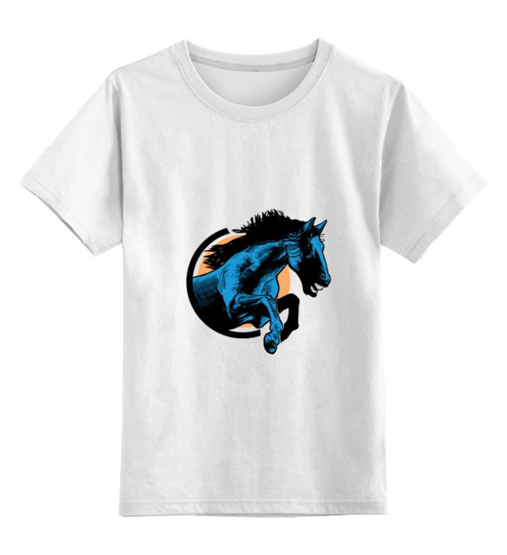 Детская футболка классическая унисекс Printio Лошадь breyer лошадь арабская гнедая