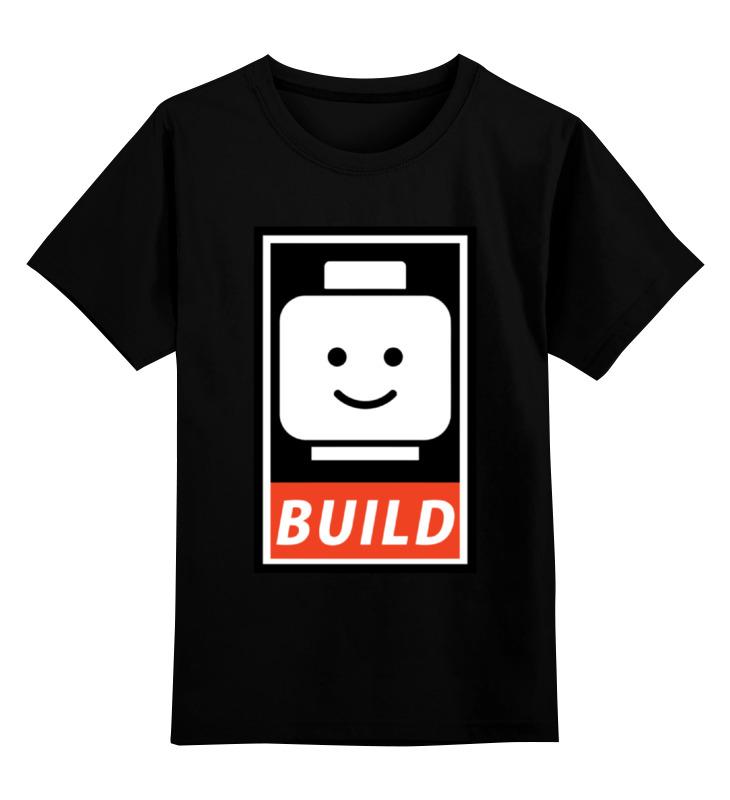 Детская футболка классическая унисекс Printio Лего. детская футболка классическая унисекс printio лего lego