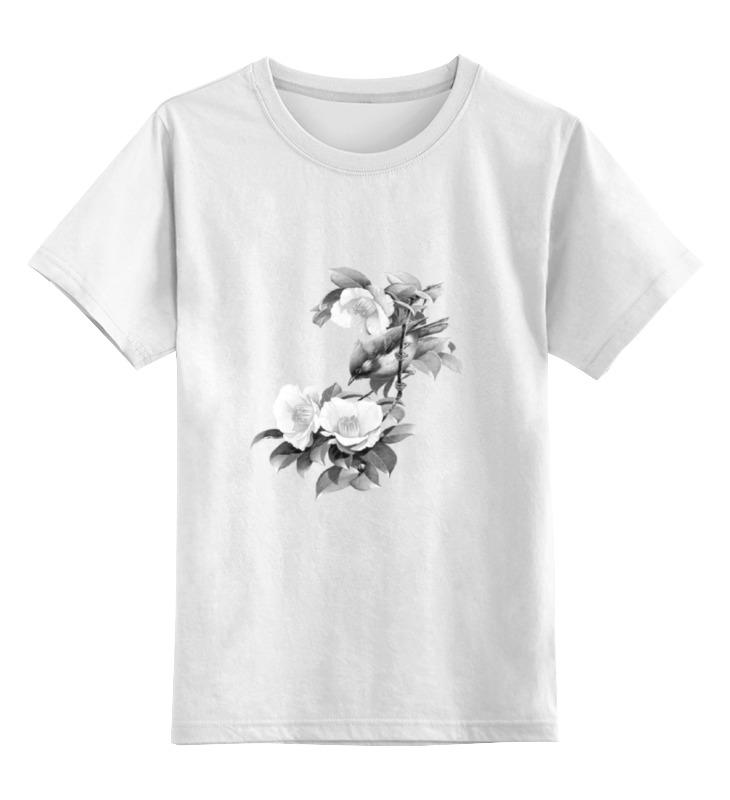 Детская футболка классическая унисекс Printio Птицы футболка классическая printio муравьед с цветами