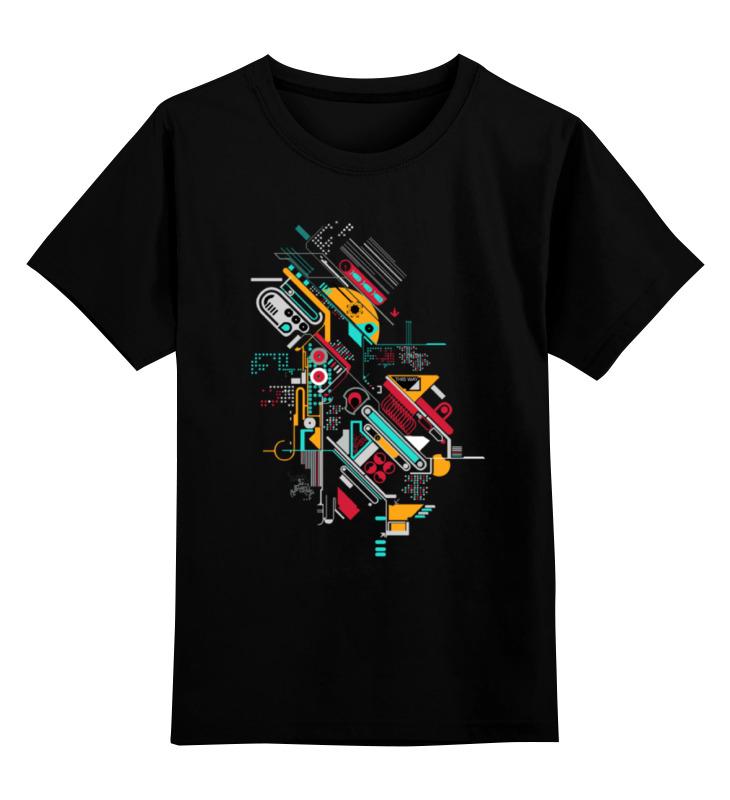 Детская футболка классическая унисекс Printio Андроид