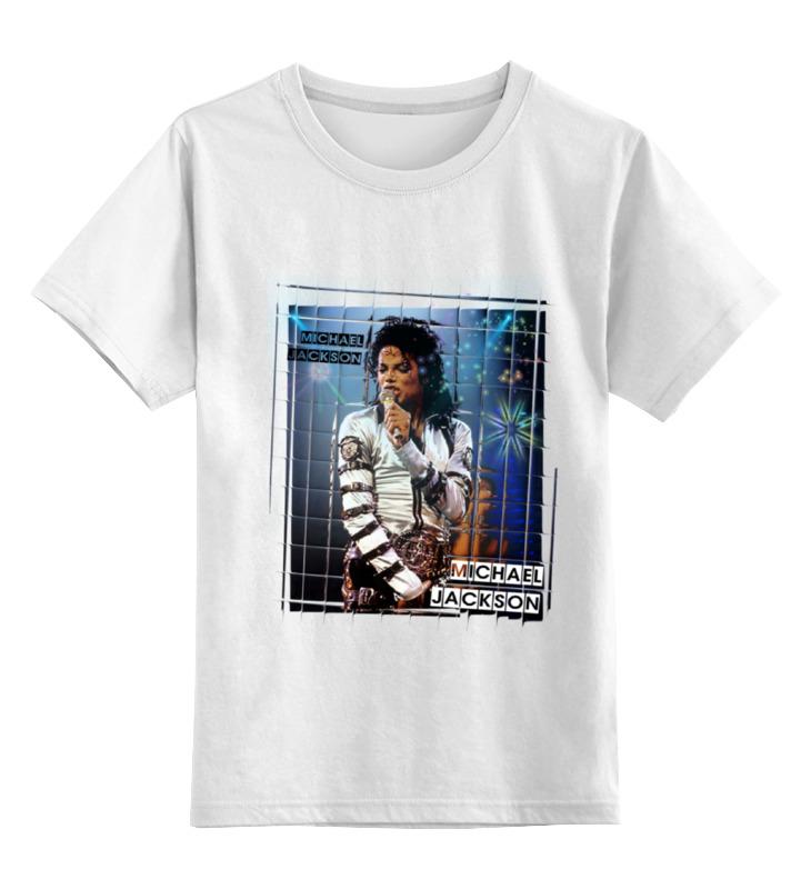 Детская футболка классическая унисекс Printio Майкл джексон цена и фото