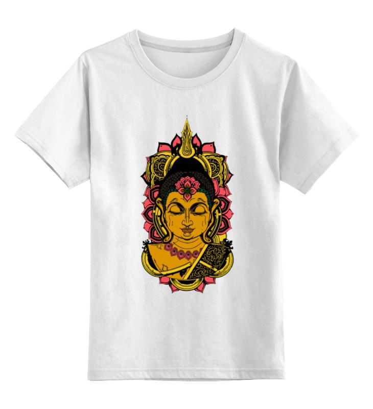 Детская футболка классическая унисекс Printio Сиддхаартха гаутама