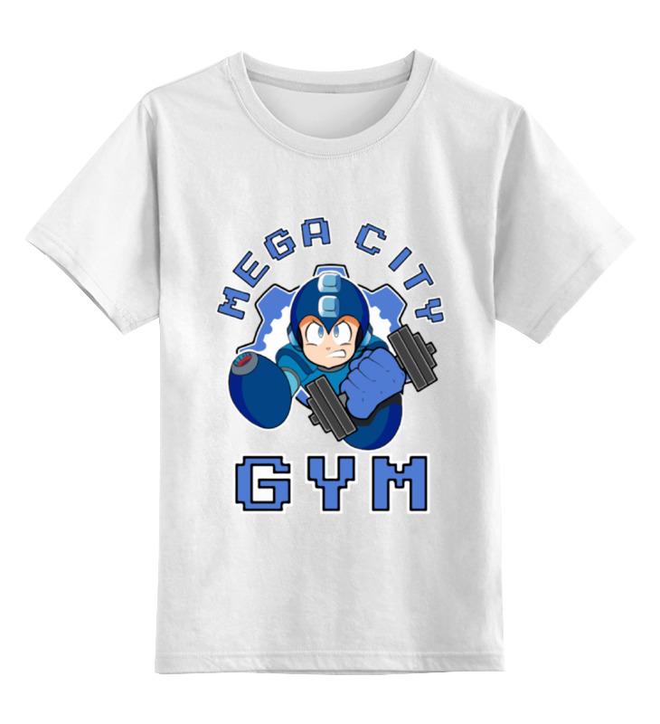 Детская футболка классическая унисекс Printio Mega man gym детская футболка классическая унисекс printio 666 gym