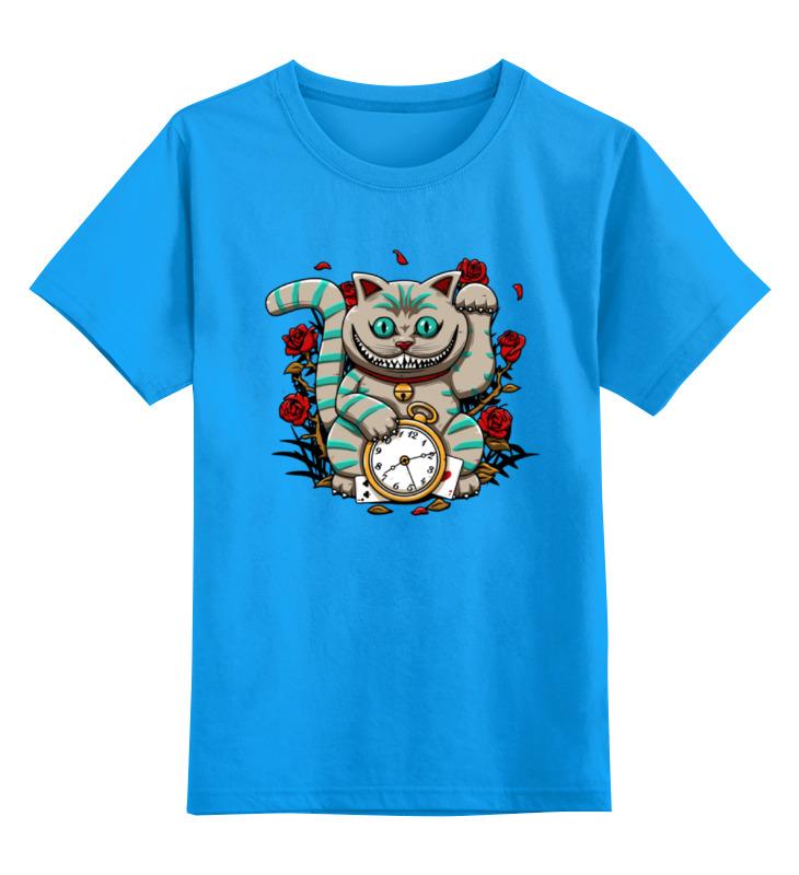 Детская футболка классическая унисекс Printio Чеширский кот (алиса в стране чудес) рудько м худ алиса в стране чудес