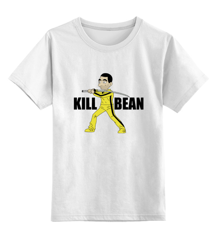 Детская футболка классическая унисекс Printio Kill bean детская футболка классическая унисекс printio мачете