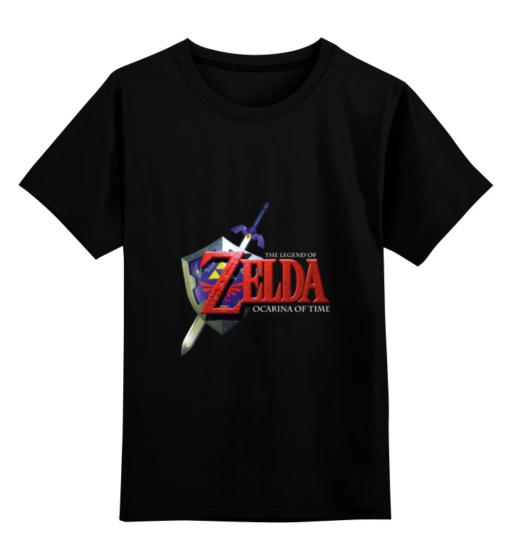 Детская футболка классическая унисекс Printio The legend of zelda the legend of zelda wallet ocarina of time leather pu purse a style