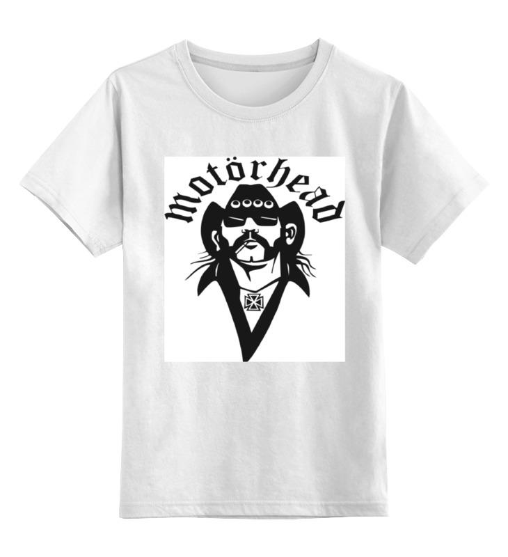 Детская футболка классическая унисекс Printio Motorhead print bar motorhead