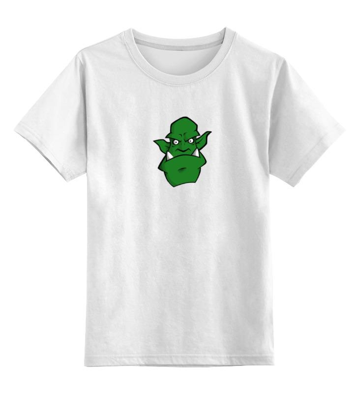 Детская футболка классическая унисекс Printio Тролль