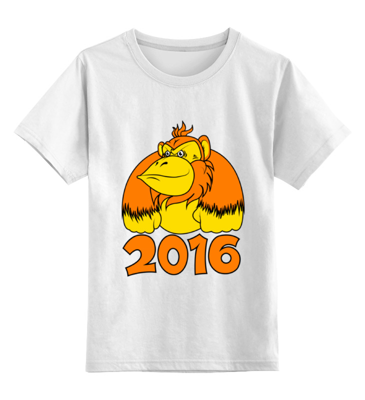 Детская футболка классическая унисекс Printio Обезьяна детская футболка классическая унисекс printio hamlet monkey