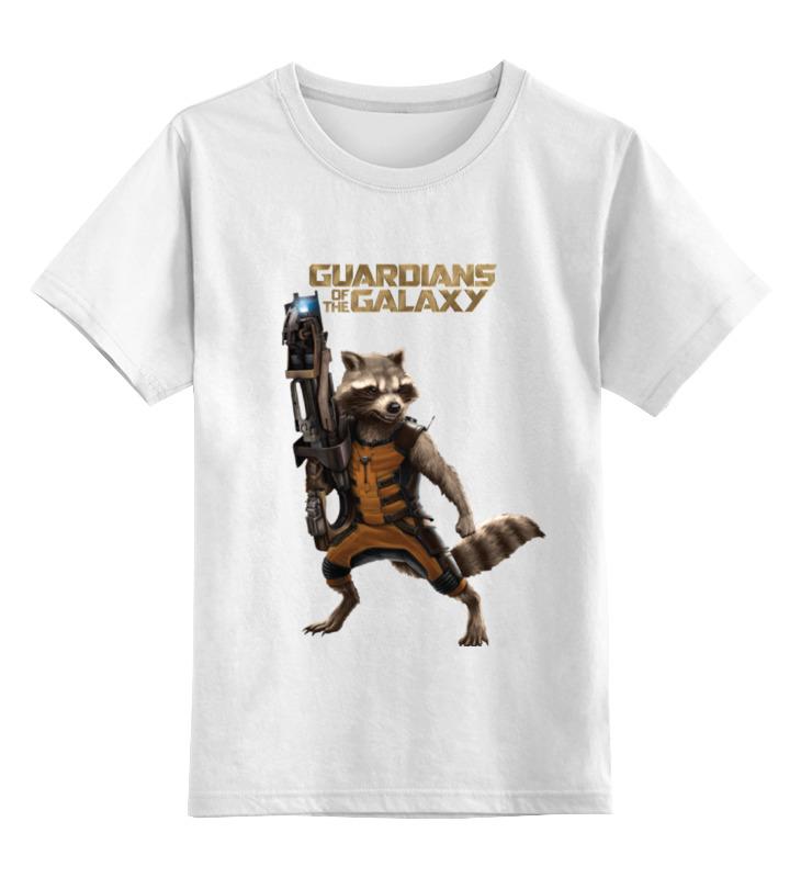 Детская футболка классическая унисекс Printio Енот ракета детская футболка классическая унисекс printio мачете