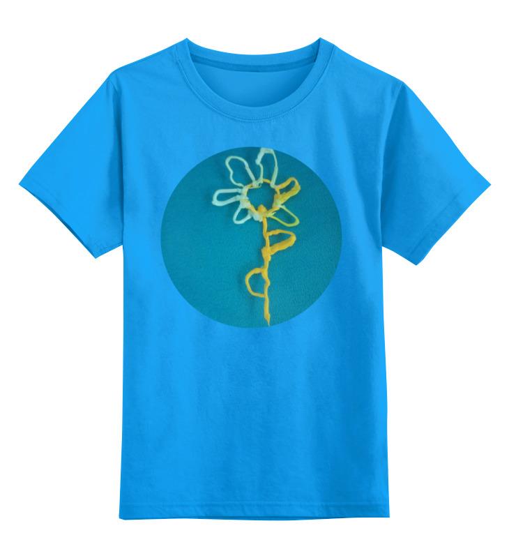 Детская футболка классическая унисекс Printio Цветик-семицветик ночник bradex семицветик