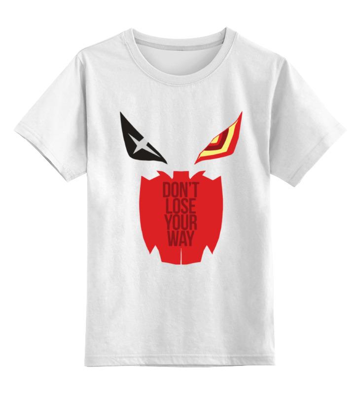 Детская футболка классическая унисекс Printio Сэнкэцу (kill la kill) new anime kill la kill matoi ryuuko backpack shoulder student bags free shiping