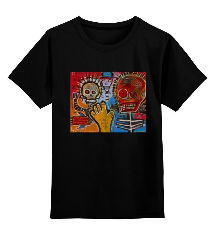 Детская футболка классическая унисекс Printio Basquiat